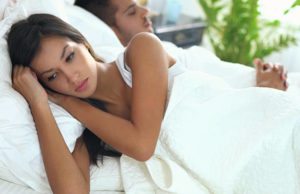 Trouble du sommeil insomnie